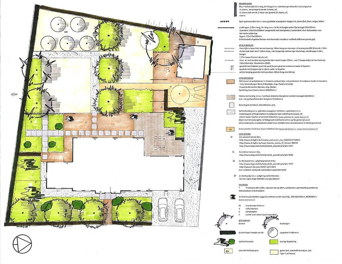 Ontwerp landschappelijke tuin brandevoort helmond for Tuinontwerp app